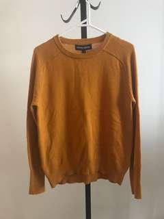 Brand new Princess Highway mustard yellow Darcy sweater