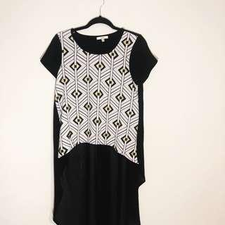 (8) Into Fashion Mullet Top