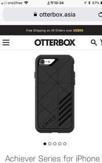 OtterBox I Phone 5/5S Case Achiever Series 。用咗1個月。全新。冇包裝盒。