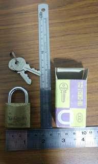 Tri-circle Brass Padlock 263 (Small)
