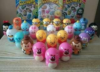 Pixar, Disney, Minions coonuts 不倒翁