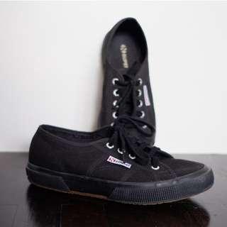 Superga All Black Sneakers