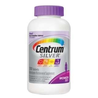🚚 Centrum Silver Women 50+ Multivitamin 200 Tablets