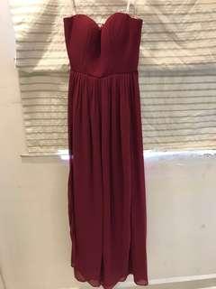 Marry merry long dinner gown convertible dress