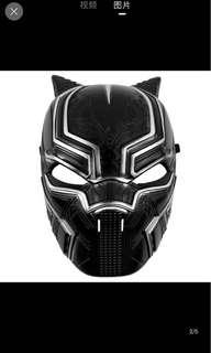 IN STOCK Black Panther mask superhero mask avengers mask Halloween costume children's day costume