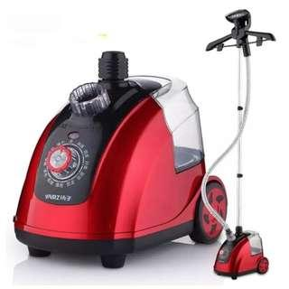 Cloth steamer iron - standing steaming iron
