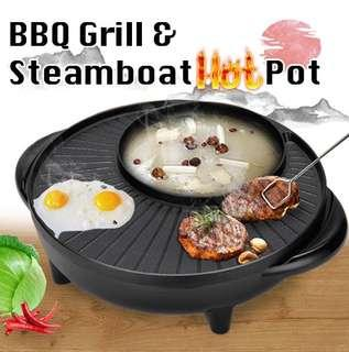 BBQ Grill & Steamboat Hot Pot