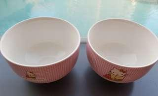 🔴$1 for Followers!🔴🚫Non Followers wait for Next Promo🚫🌟AUTHENTIC🌟💗(BRAND NEW) Hello Kitty Bowls💋No pet No smoker Clean Hse💋