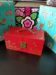 🌹EMPTY mooncake box MARRIOTT SHANGRILA HOME FAVOURITE