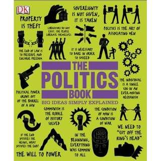 ( eBook ) The Politics Book Big Ideas Simply Explained