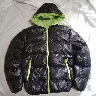冬季款休閒兩色輕便羽絨外套