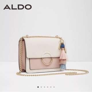 Sling Bag white-pink