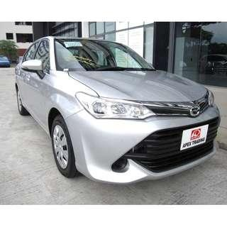 Toyota Axio 1.5 X For Rent Call Now!