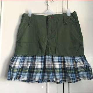 Tommy Hilfiger Army Green Skirt
