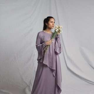 Purple dress beads by ghamara.id