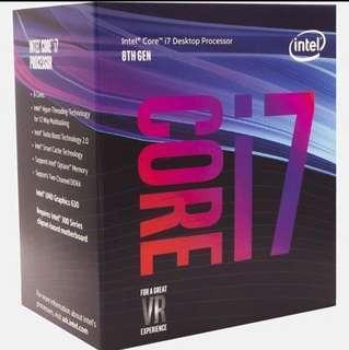 Intel Core i7-8700 (Limit Stock )