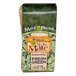 🚚 Mate Factor Organic Yerba Mate Fresh Green Loose Herb Tea 12 oz (340 g)