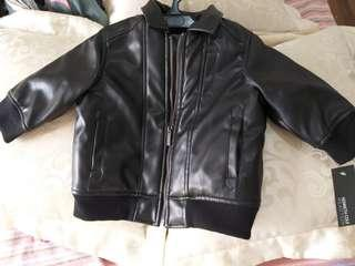 Kenneth Cole Kids leather jacket