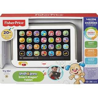 BNIB: Fisher Price Laugh & Learn Smart Stages Tablet