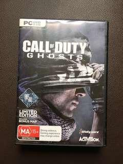 Call of Duty Ghost CD PC Game 遊戲 使命召喚