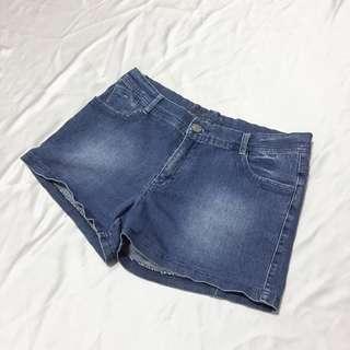 Human Denim Shorts