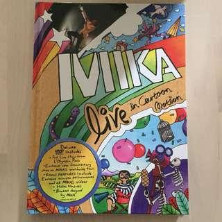 DVD MIKA Live in Cartoon Motion 書冊包裝特別版 全區