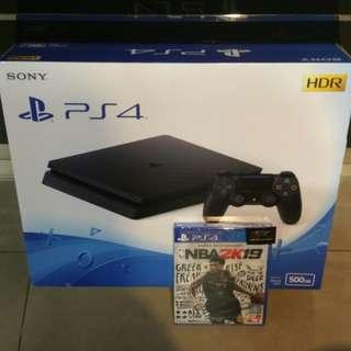 Ps4 Slim With NBA 2k19