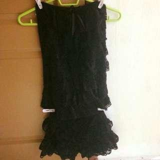 Black Flora Lace 2-Piece