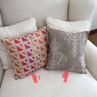 Thrown Pillows (New)