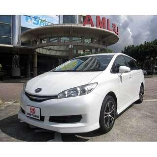 2016 Toyota Wish 1.8 X For Rent Call Now!