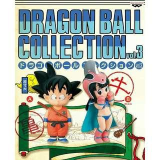 全新 正版 行版 龍珠 dragonball collection vol.3 年幼悟空 & 芝芝