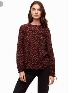 Wilfred Lourdes Blouse in Truffle