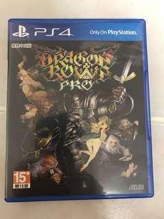 PS4 Dragon Crown Pro