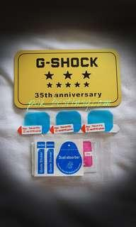 Compatible for G Shock Gx56/Gxw56 Screen Protector.