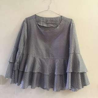 blouse kotak