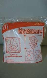 全新 MacDonald My Melody Sandwich Shaping Game 麥當奴 三文治印模