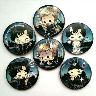 Sherlock BBC Button Badges #MidSep50