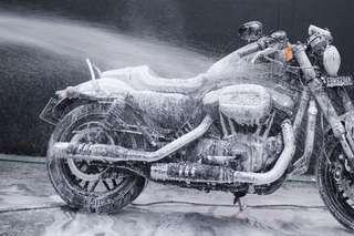 Premium Snow Spa Motorbike Wash