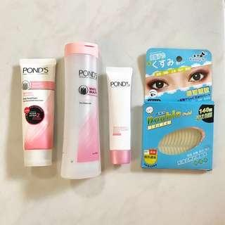 1 set Ponds White Beauty + free gift