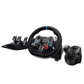 **BUNDLE ** Logitech G29 Driving Force + Shifter