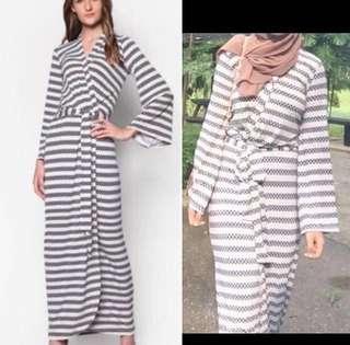 Lubna wrap dress