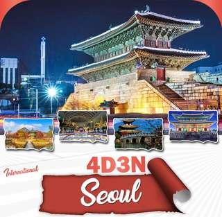4D3N SEOUL TOUR PACKAGE w/ AIRFARE