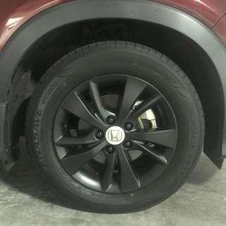 Honda Vezel Plastidip Rims Spray Plasti dip Service