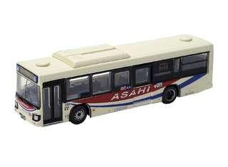 全新 TOMYTEC N gauge 情景 Bus Collection JB061 朝日巴士  鐵道模型用品 (Not KATO & Tomix) 1/150