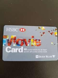 Hsbc Movie Card All Days. 6 tickets left inside
