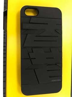 I Phone Case 5/5S 突字(香港)全新未用過,冇盒。