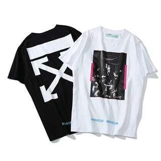 Off White TM Mirror Mirror Graphic T Shirt