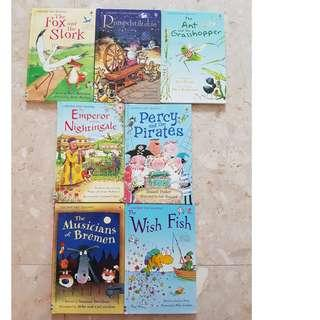 Usborne First Reading story books
