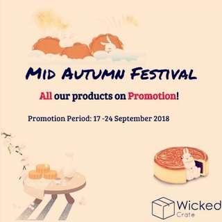 Mid Autumn Festival sales
