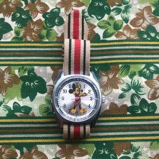 Vintage Mickey unisex watch retro Swiss